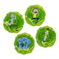 Paladone Products Rick & Morty Lenticular Coaster 4-Pack