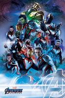 Pyramid International Avengers: Endgame Poster Pack Quantum Realm Suits 61 x 91 cm (5)