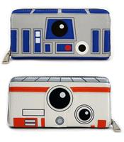Loungefly Star Wars by  Wallet R2-D2/BB-8