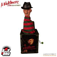 Mezco Toys Nightmare On Elm Street Burst-A-Box Music Box Freddy Krueger 36 cm