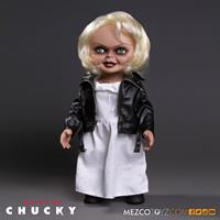 Mezco Toys Bride of Chucky Talking Tiffany Doll 38 cm