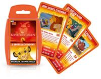 Winning Moves The Lion King Card Game Top Trumps *German Version*