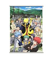 Sakami Merchandise Assassination Classroom Wallscroll Koro & Students 90 x 60 cm