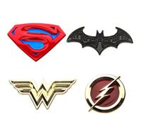 Sales One DC Comics Collectors Pins 4-Pack Superman