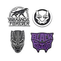 Sales One Marvel Collectors Pins 4-Pack Black Panther