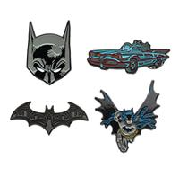 Sales One DC Comics Collectors Pins 4-Pack Joker & Harley Quinn