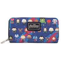 Marvel by Loungefly Wallet Avengers Infinity War Chibi Characters