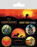 Pyramid International The Lion King Pin Badges 5-Pack Life of a King