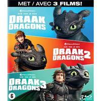 Hoe tem je een draak 1-3 (Blu-ray)