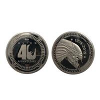 FaNaTtik Alien Collectable Coin 40th Anniversary Silver Edition