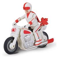 Thinkway Toys Toy Story 4 Pullback Figure Duke Caboom with Motorcycle 10 cm