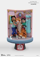Beast Kingdom Toys Ralph Breaks the Internet D-Stage PVC Diorama Jasmine & Vanellope 15 cm