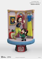 Beast Kingdom Toys Ralph Breaks the Internet D-Stage PVC Diorama Snow White & Vanellope 15 cm