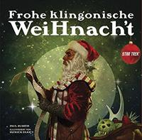 Cross Cult Star Trek Book Frohe klingonische Weihnacht *German Version*