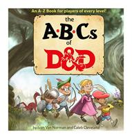 Wizards of the Coast Dungeons & Dragons Book The ABCs of D&D english