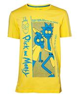 Difuzed Rick and Morty T-Shirt Crazy Crap Size L
