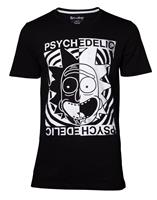 Difuzed Rick and Morty T-Shirt Psychedelic Size S