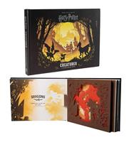 Insight Editions Harry Potter 3D Pop-Up Book Creatures