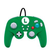 pdp Gamecube Style Wired Fight Pad Pro - Luigi