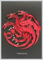 Insight Editions Game of Thrones Quilled Greeting Card House Targaryen
