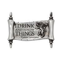 Nemesis Now Game of Thrones Magnet I Drink And I Know Things