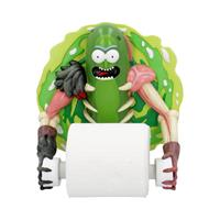Nemesis Now Rick and Morty Toilet Roll Holder Pickle Rick