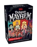 Wizards of the Coast Dungeons & Dragons Card Game Dungeon Mayhem french