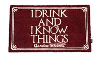 SD Toys Game of Thrones Doormat I Drink And I Know Things 43 x 72 cm
