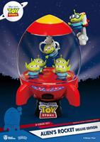 Beast Kingdom Toys Toy Story D-Stage PVC Diorama Alien's Rocket Deluxe Edition 15 cm