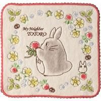 Marushin My Neighbor Totoro Mini Towel Wild Strawberries 25 x 25 cm