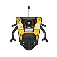 Gaya Entertainment Borderlands 3 Stubbins Plush Figure Claptrap 16 cm