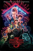 Pyramid International Stranger Things Poster Pack Summer of 85 61 x 91 cm (5)