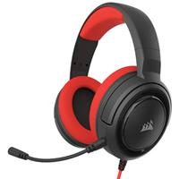 corsair HS35 Stereo Gaming Headset Rood