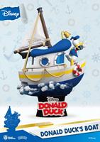 Beast Kingdom Toys Disney Summer Series D-Stage PVC Diorama Donald Duck's Boat 15 cm