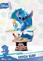 Beast Kingdom Toys Disney Summer Series D-Stage PVC Diorama Stitch Surf 15 cm
