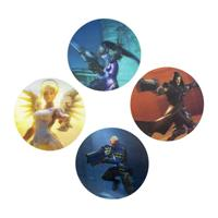 Paladone Products Overwatch - 3D Lenticular Coasters