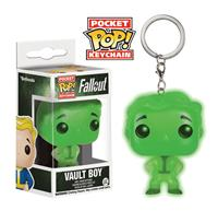 Funko Fallout Pocket POP! Vinyl Keychain Vault Boy Glow In The Dark 4 cm
