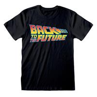 Heroes Inc Back to the Future T-Shirt Logo Size S