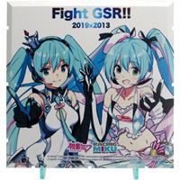 PLM Dioramansion 150 Decorative Parts Racing Miku 2019 Pit Optional Panel Rd. 2 FUJI