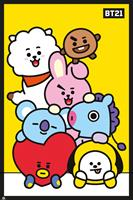 GB eye BT21 Poster Pack Pileup 61 x 91 cm (5)