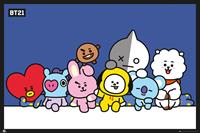 GB eye BT21 Poster Pack Group 61 x 91 cm (5)