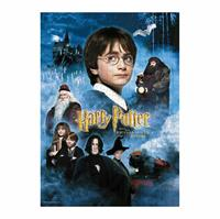 SD Toys Harry Potter Jigsaw Puzzle Harry Potter and the Sorcerer's Stone Movie Poster