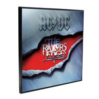 Nemesis Now AC/DC Crystal Clear Picture The Razors Edge 32 x 32 cm
