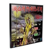 Nemesis Now Iron Maiden Crystal Clear Picture Killers 32 x 32 cm