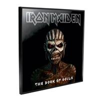 Nemesis Now Iron Maiden Crystal Clear Picture Book of Souls 32 x 32 cm