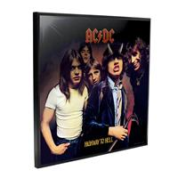 Nemesis Now AC/DC Crystal Clear Picture Highway to Hell 32 x 32 cm