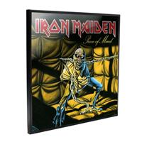 Nemesis Now Iron Maiden Crystal Clear Picture Piece of Mind 32 x 32 cm