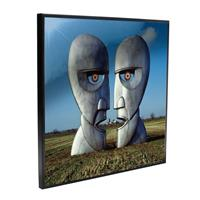 Nemesis Now Pink Floyd Crystal Clear Picture The Division Bell 32 x 32 cm
