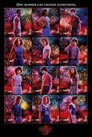 Pyramid International Stranger Things Poster Pack Character Montage S3 61 x 91 cm (5)