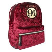 Cerdá Harry Potter Casual Fashion Plush Backpack Platform 9 3/4 30 x 40 x 13 cm
